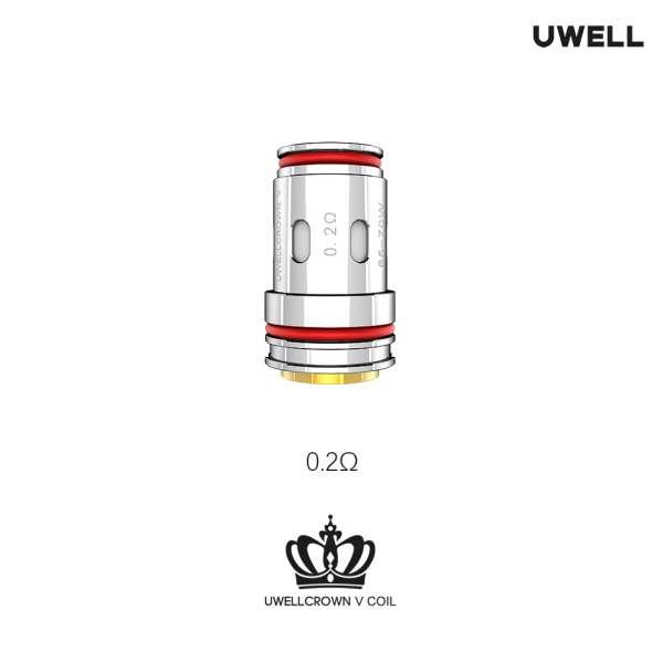UWELL Crown 5 UN2 Meshed-H Coil 4 Stück