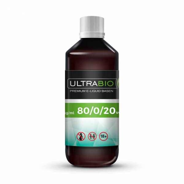 Ultrabio Base 80 VG / 0 PG / 20 H²O