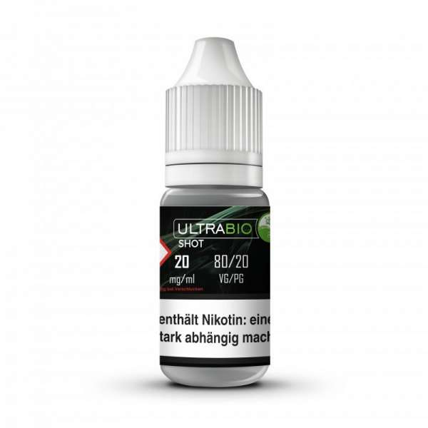 Ultrabio Nikotinshot 80/20 VPG