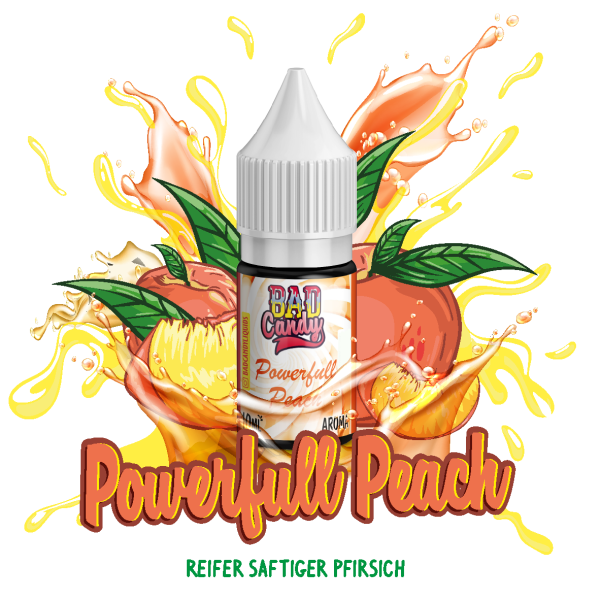 Bad Candy Powerfull Peach Aroma 10ml