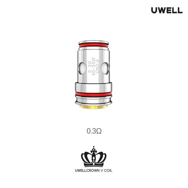 UWELL Crown 5 UN2 Meshed-H Coil 4 Stück